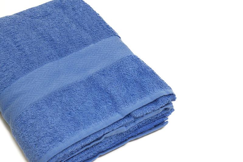 telo bagno blu