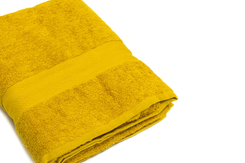 telo bagno giallo