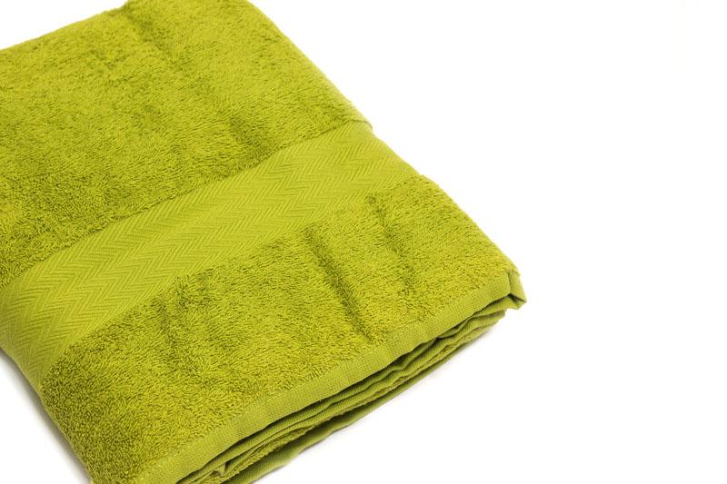 telo bagno verde